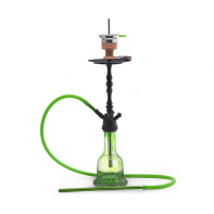 Кальян AMY Deluxe — Luxus Shisha «043» Black Green