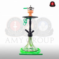 Кальян Amy Deluxe Middle Globe 056 Green