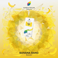 Табак для кальяна Spectrum - Bang Banana (Банан) 40г