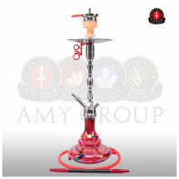 Кальян AMY Deluxe Hammer Steel SS08 Red