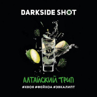 Табак для кальяна Darkside Shot - Алтайский трип (Хвоя фейхоа эвкалипт) 30г
