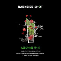 Табак для кальяна Darkside Shot - Северный трип (Базилик, клюква, малина) 30г
